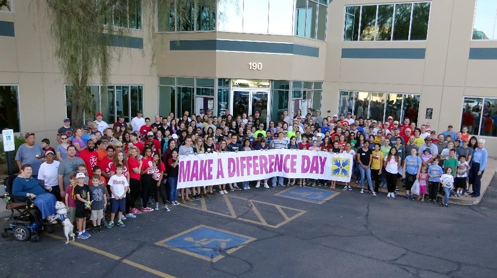 Make a Difference Day 2016