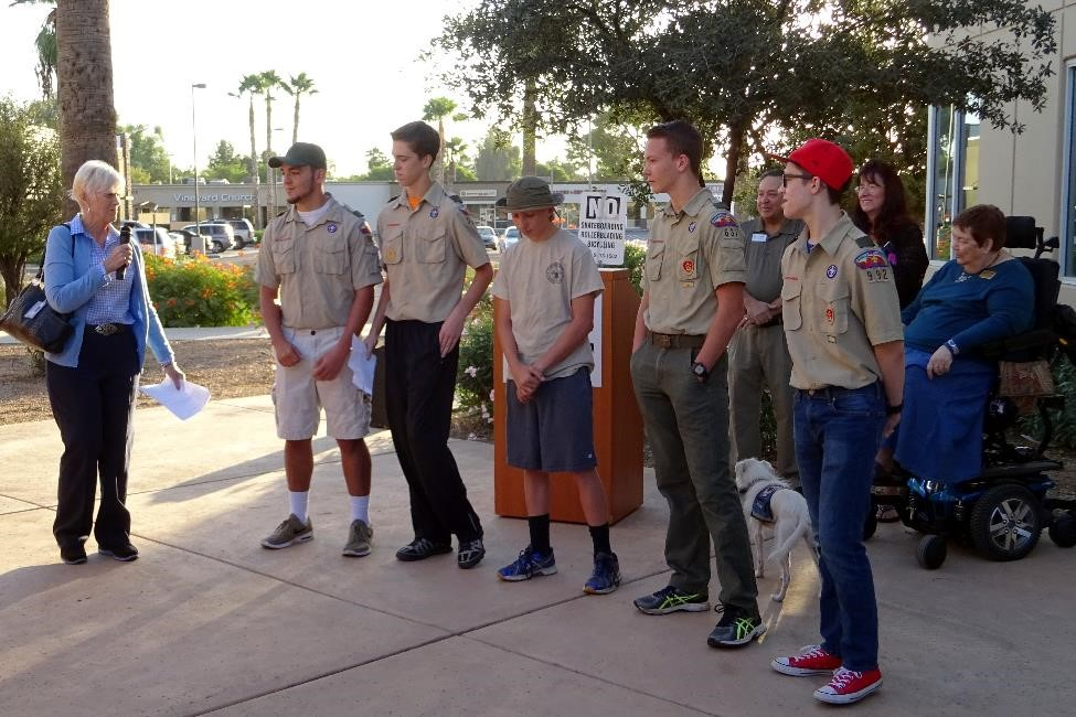 4 - Eagle Scout Candidates