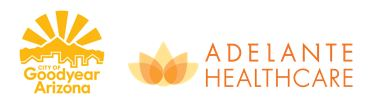 Adelante&Goodyear logo