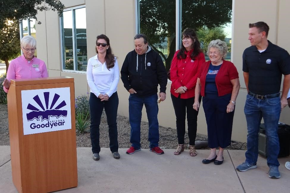 Mayor Lord and the councilmembers welcomed and thanked the volunteers.