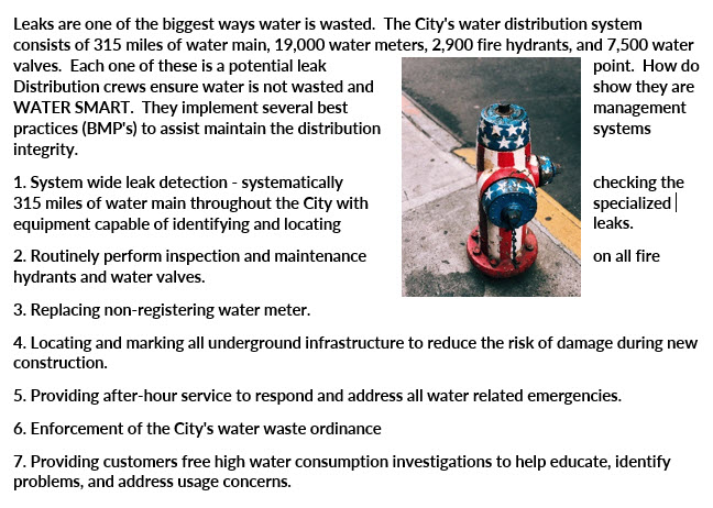 Water Dist Management