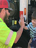 Trash truck-loving 2-year-old has RAD encounter